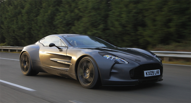 Aston Martin One-77 - one of the Fastest Cars in the World
