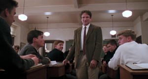 Robbin Williams Dead Poets Society -- 1989 Rated PG
