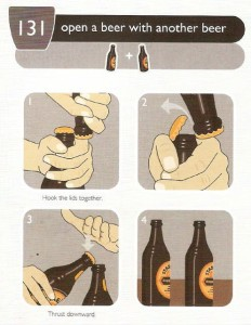 How to open a bottle easily?