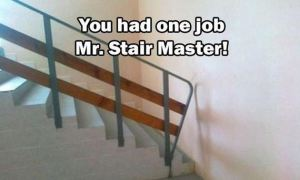 The Stairway Has Been Blatantly Denied