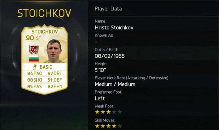 3. Hristo Stoichkov