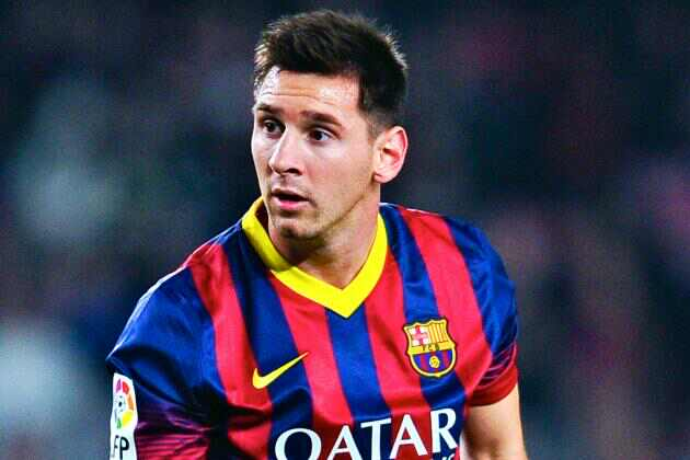 Lionel Messi is the second Most Popular Football Player In The World