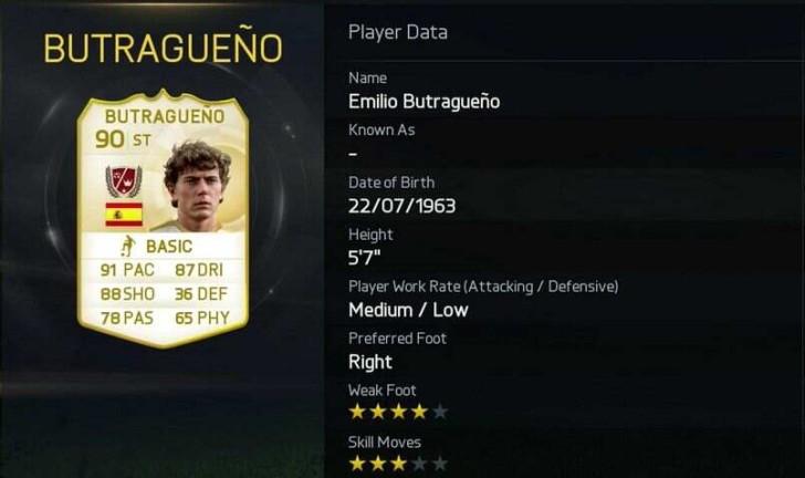 5. Emilio Butragueño