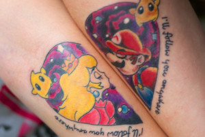 Mario And The Toadstool Princess