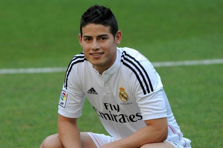 James Rodriguez is one the Most Popular Football Players In The World