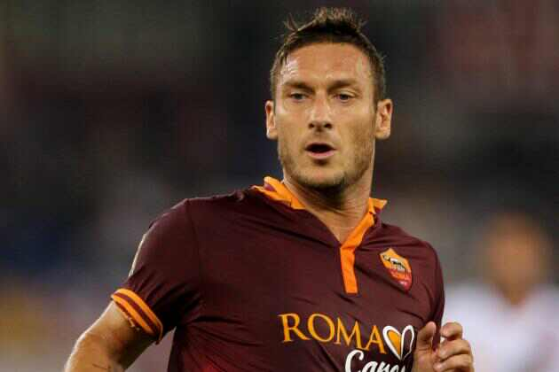 Francesco Totti is one of the slowest soccer players in the world