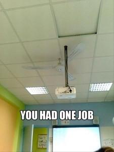 A Fanny Projector