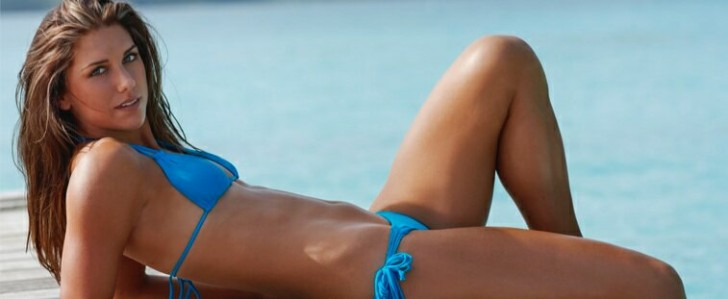Alex Morgan is one of the Hottest Female Football Players in the World