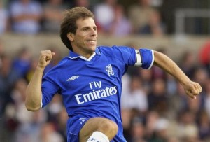 Gianfranco Zola is one of the Top 10 Players To Have Never Won The Premier League