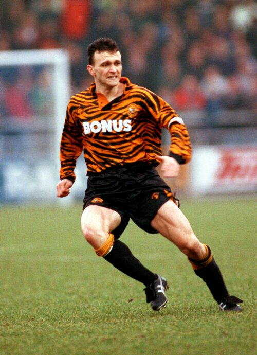 David Norton, Hull City home shirt 1992-93