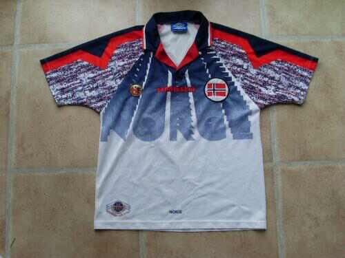 Norway Away shirt 1996