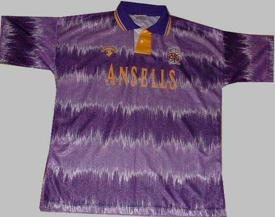 Stoke City Away shirt 1992-93