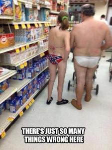 Having Some Underwear Breakfast