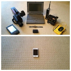 Technologies getting smaller
