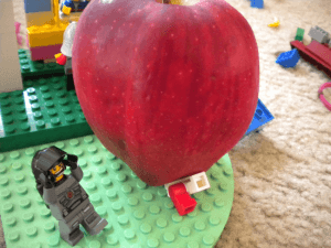 The largest apple