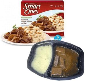 Smart Ones Roast Beef, Mashed Potatoes and Gravy