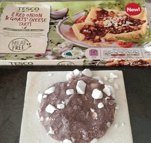 Tesco Red Onion and Goat Cheese Tarts