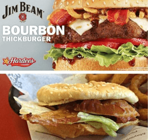 The Jim Beam Bourbon Thickburger