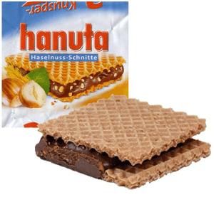 Hanuta Haselnuss-Schnitte