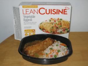 The Lean Cuisine Vegetable Eggroll