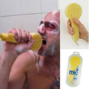 Better shower singing experience