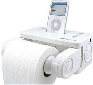 iPod deck and tissue holderS