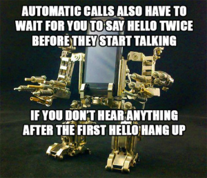 Automatic calls