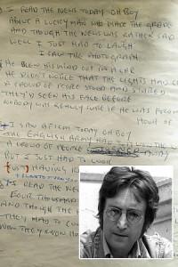 John Lennon's Handwritten Lyrics of 'All You Need Is Love'