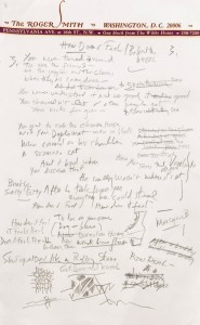 Bob Dylan's Handwritten Lyrics For 'Like A Rolling Stone'