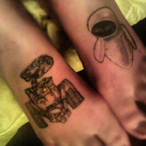 WALL-E, EVE Tats