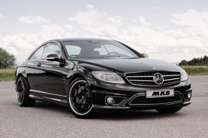 The Mercedes-Benz CL65 AMG Coupe