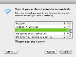 The Eavesdropping Neighbors
