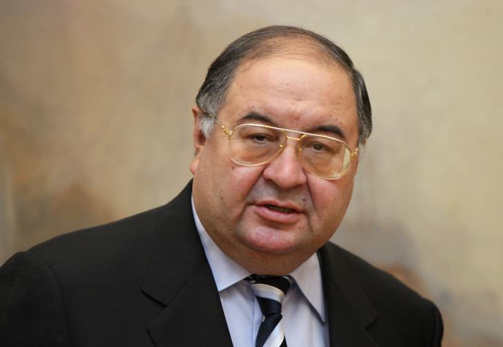 Alisher Usmanov is one of the top ten football billionaires