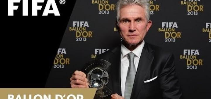 FIFA World Coach of the Year for Men's Football 2013 Winner Jupp Heynckes
