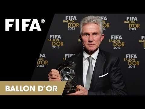 FIFA World Coach of the Year for Men's Football 2013 Winner Jupp Heynckes