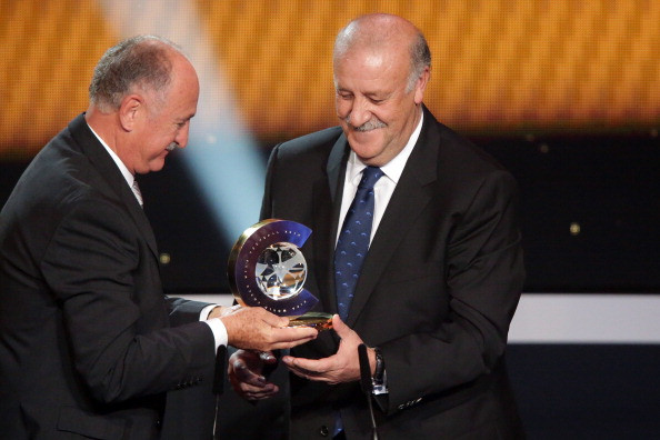 FIFA World Coach of the Year for Men's Football 2012 Winner Vicente del Bosque