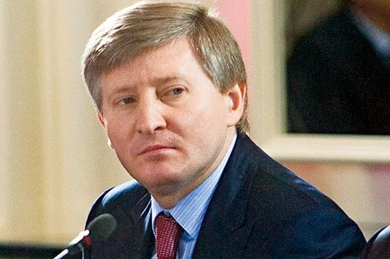 Rinat Akhmetov is one of the top ten football billionaires