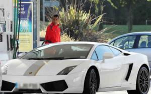 Nani – ( Lamborghini Gallardo LP 550-2) - £137,000