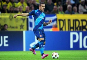 Lukas Podolski says farewell to Arsenal