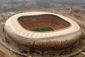 The soccer city is one of the most expensive football stadiums in the world