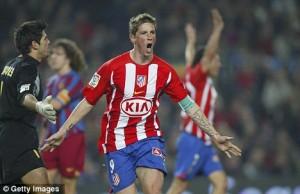 Transfer: Fernando Torres AC Milan  loan to  Atletico Madrid