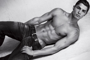Cristiano Ronaldo is the sexiest football player in the world
