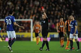 Antolin Alcaraz is one of the Top 10 Premier League Players with Red Cards so Far 2014/15