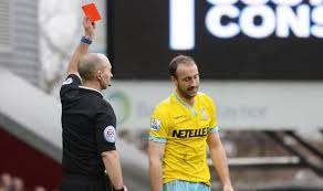 Glenn is one of the Top 10 Premier League Players with most Red Cards so Far 2014/15