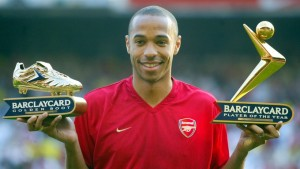 Thiery Henry is one of the Top 10 Footballers With Most Premier League Golden Boots