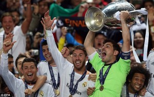 iker cassilas is part of the players wit most ucl titles