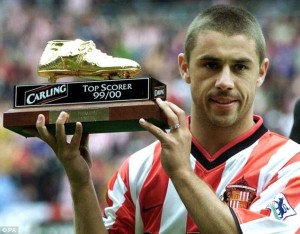 Kevin Philips is one of the Top 10 Footballers With Most Premier League Golden Boots