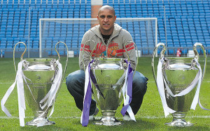 Roberto Carlos is one of the Top 10 UEFA Champions League Most Successful Players