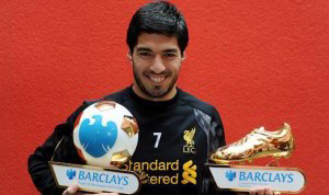 Luis Suarez is one of the Top 10 Footballers With Most Premier League Golden Boots