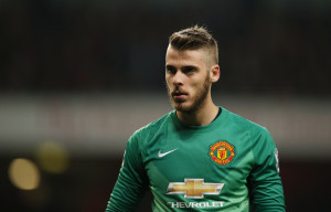 david degea is one of the Top 10 Highest Paid Manchester United Players 2014/2015